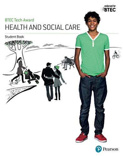 9781292200927: BTEC Tech Award Health and Social Care Student Book