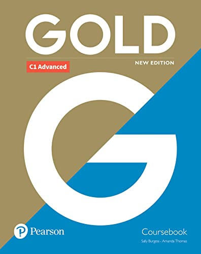 9781292202198: Gold C1 Advanced New Edition Coursebook