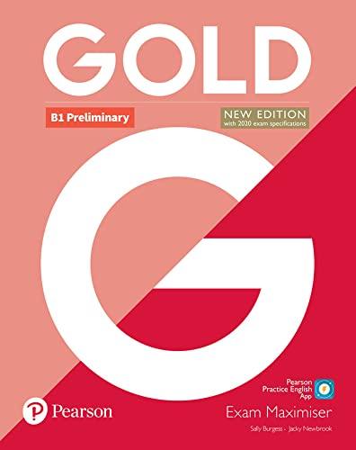 9781292202358: Gold B1 Preliminary New Edition Exam Maximiser