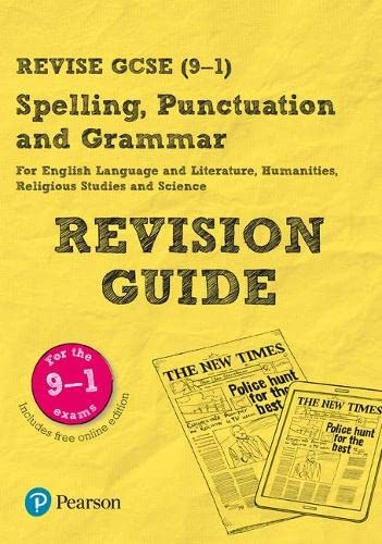 9781292211527: Revise GCSE Spelling, Punctuation and Grammar Revision Guide (REVISE Companions)