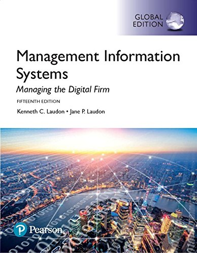9781292211756: Management Information Systems: Managing the Digital Firm