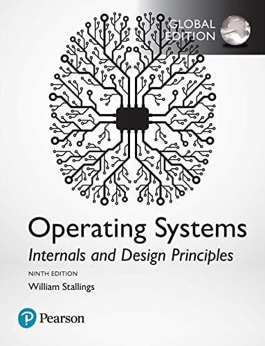 9781292214290: Operating Systems: Internals and Design Principles, Global Edition
