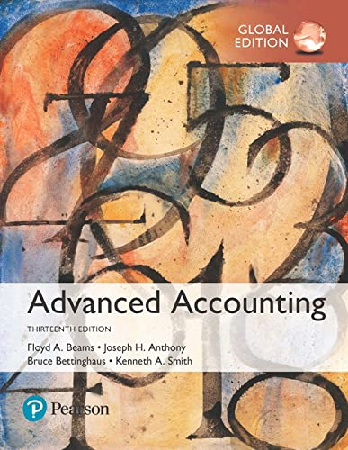 Advanced Accounting 13e (IE): Joseph H. Anthony,