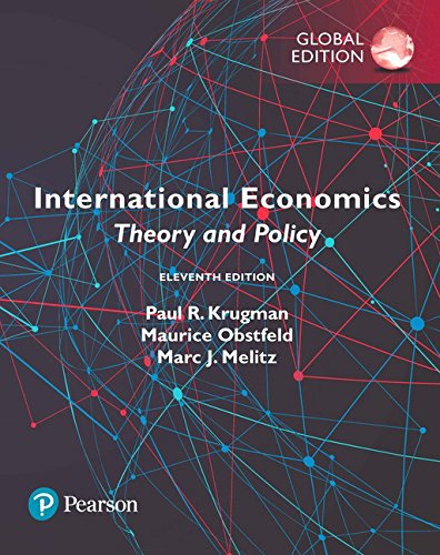 9781292214870: International Economics: Theory and Policy, Global Edition