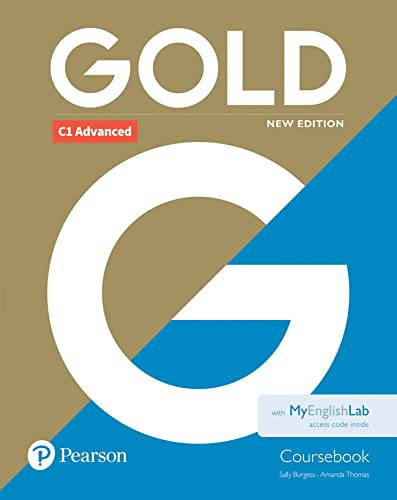 9781292217734: Gold C1 Advanced New Edition Coursebook and MyEnglishLab Pack