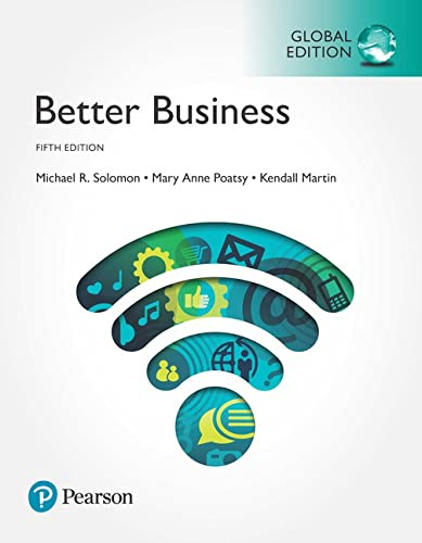 9781292218199: Better Business, Global Edition