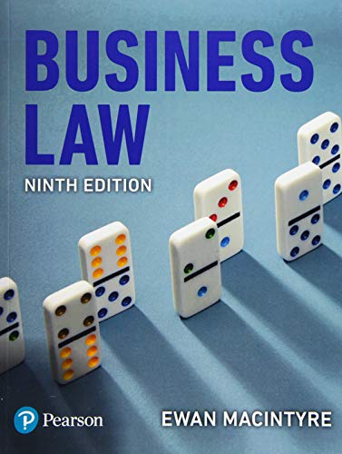 9781292219950: Business Law, 9th edition