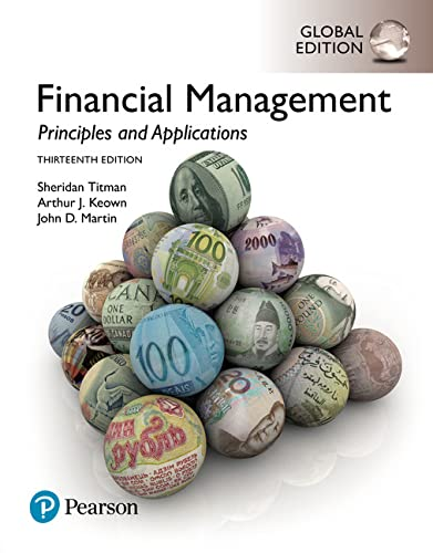 9781292222189: Financial Management: Principles and Applications, Global Edition