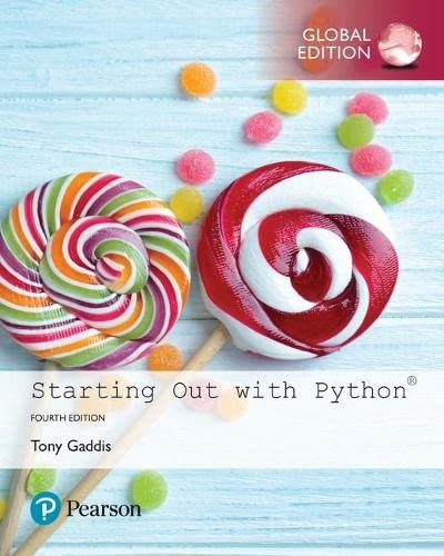 9781292225753: Starting Out with Python, Global Edition