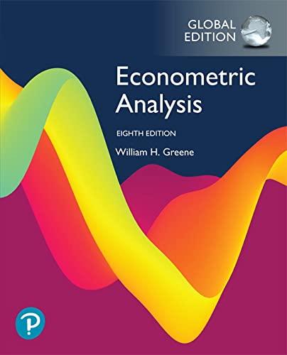 9781292231136: Econometric Analysis, Global Edition