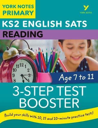 English SATs 3-Step Test Booster Reading: York: Anna Cowper