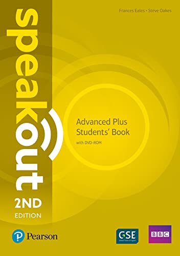 9781292241517: Speakout Advanced Plus 2nd Edition Students' Book with DVD-ROM and MyEnglishLab Pack