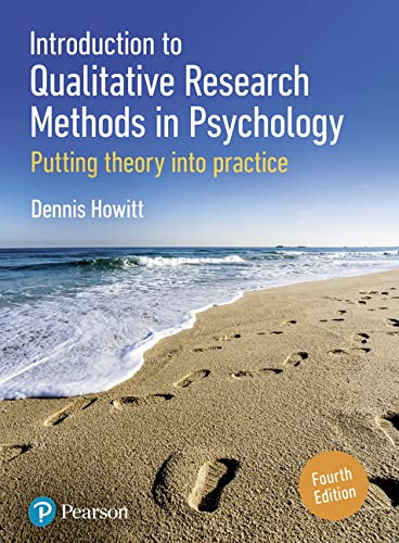 9781292251202: Introduction to Qualitative Research Methods in Psychology