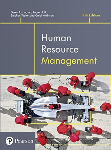Human Resource Management: Derek Torrington (author),