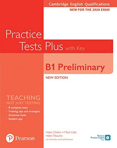 9781292282220: Practice tests plus. Preliminary. With key. Per le Scuole superiori. Con e-book. Con espansione online