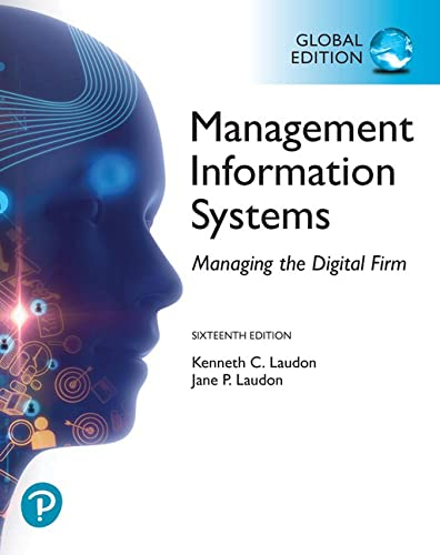 9781292296562: Management Information Systems: Managing the Digital Firm, Global Edition