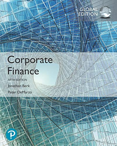 9781292304151: Corporate Finance, Global Edition