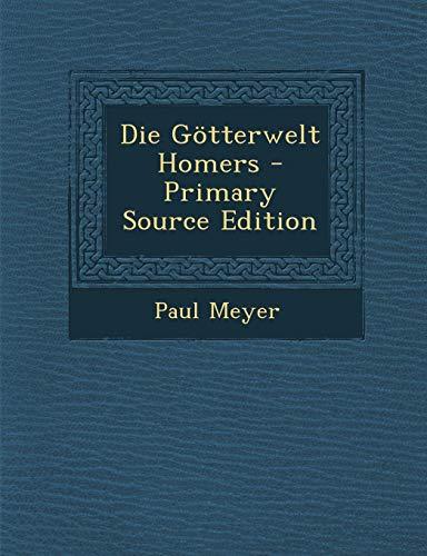 9781293004494: Die Götterwelt Homers