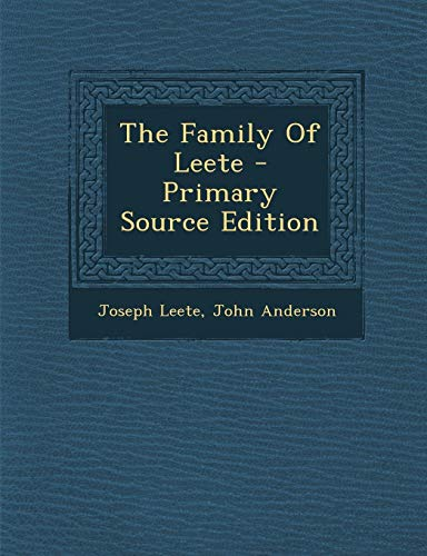 9781293054819: The Family Of Leete