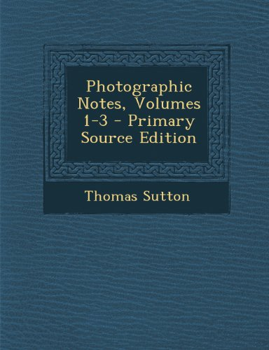 9781293097359: Photographic Notes, Volumes 1-3