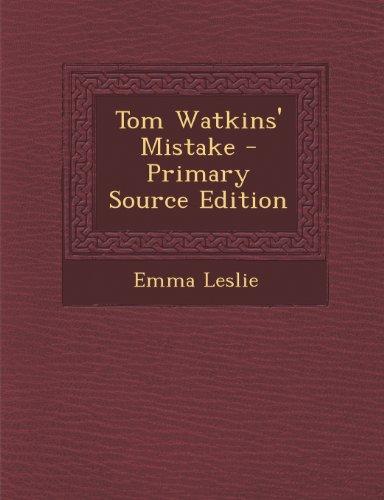 9781293097465: Tom Watkins' Mistake