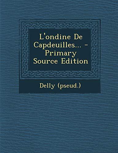 9781293123348: L'ondine De Capdeuilles...