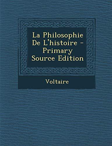 9781293151488: La Philosophie de L'Histoire