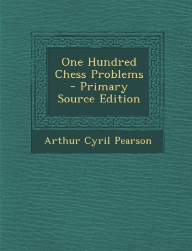 9781293164303: One Hundred Chess Problems