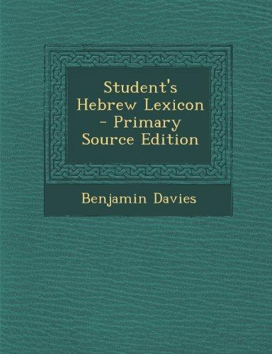 9781293164921: Student's Hebrew Lexicon