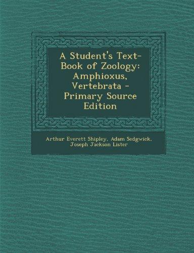 9781293169988: A Student's Text-Book of Zoology: Amphioxus, Vertebrata