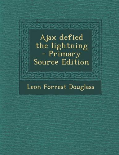 9781293231647: Ajax defied the lightning