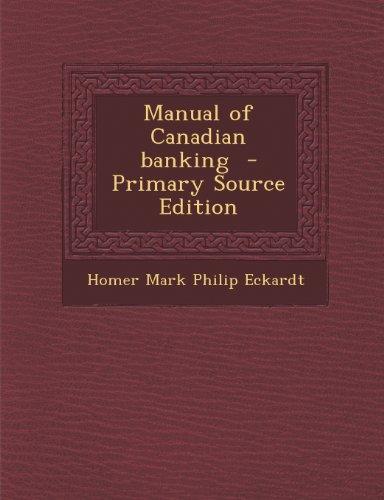 9781293237724: Manual of Canadian banking