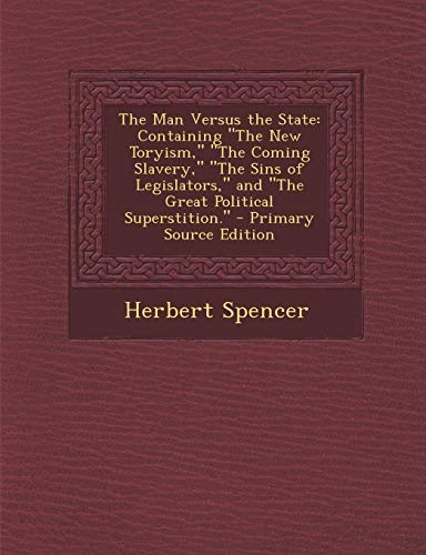 9781293279946: The Man Versus the State: Containing