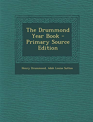 9781293288917: The Drummond Year Book
