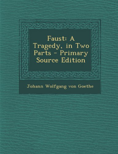 an analysis of the gretchen tragedy in faust a play by johann wolfgang goethe Faust quotes ― johann wolfgang von goethe, faust: quotes by johann wolfgang von goethe play the 'guess that quote' game.