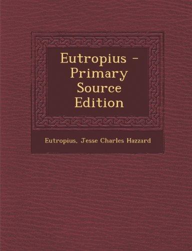 9781293316252: Eutropius