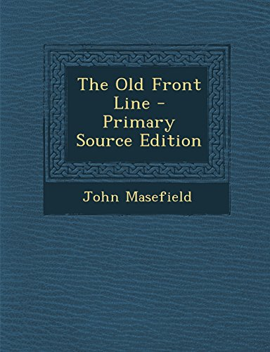9781293320235: The Old Front Line