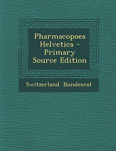 9781293329153: Pharmacopoea Helvetica