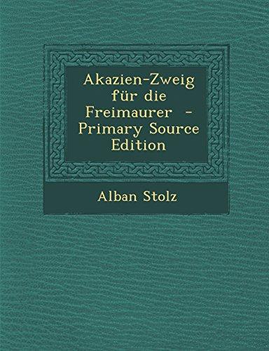 9781293333860: Akazien-Zweig für die Freimaurer