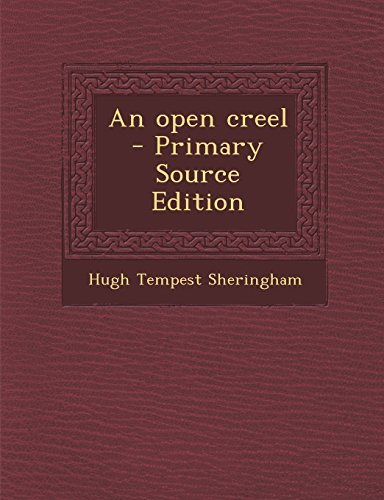 9781293344224: An open creel