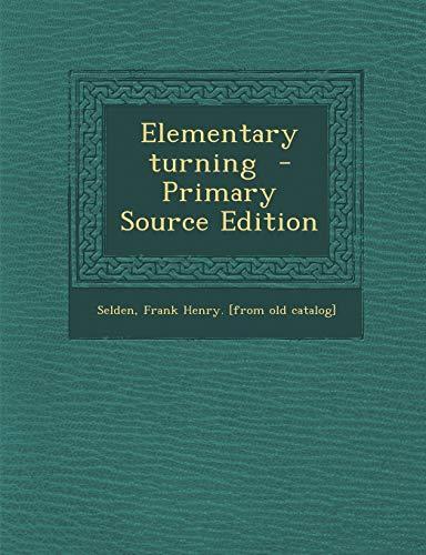 9781293354254: Elementary turning