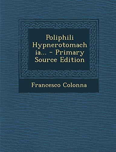 9781293365922: Poliphili Hypnerotomachia...