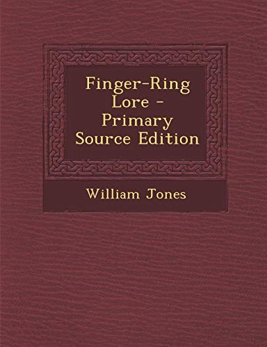 9781293426838: Finger-Ring Lore