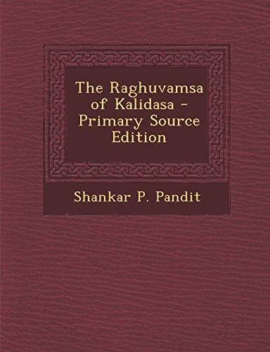 9781293429136: The Raghuvamsa of Kalidasa