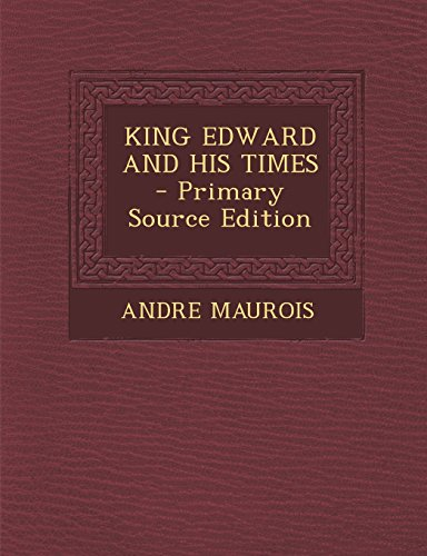 9781293453070: KING EDWARD AND HIS TIMES