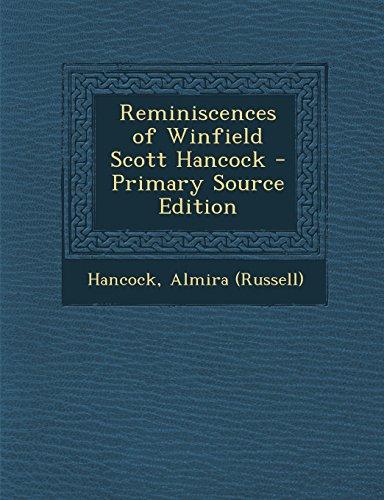 9781293461853: Reminiscences of Winfield Scott Hancock