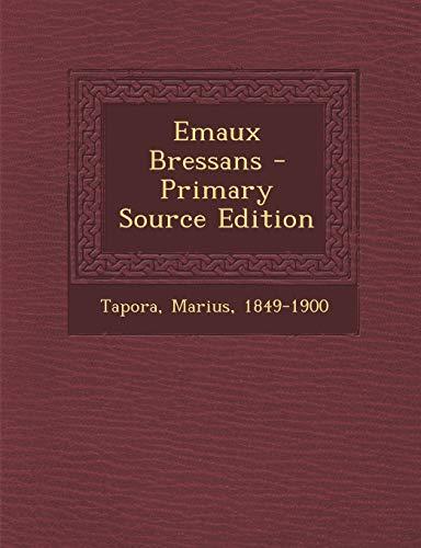 9781293464335: Emaux Bressans