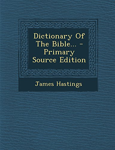 9781293474099: Dictionary Of The Bible...