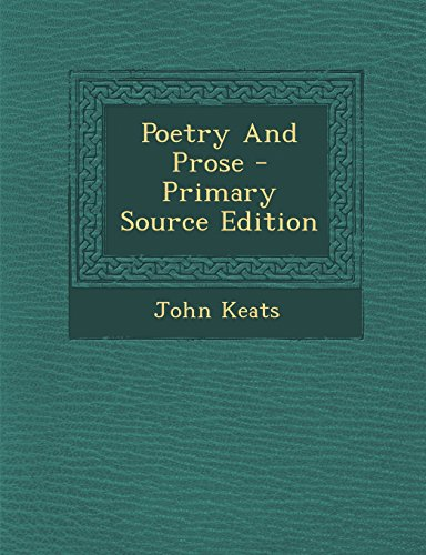 9781293544952: Poetry And Prose