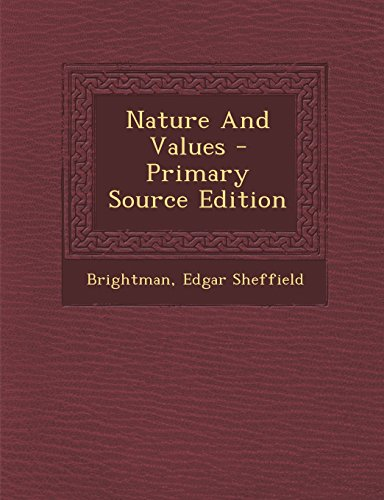 9781293545935: Nature And Values